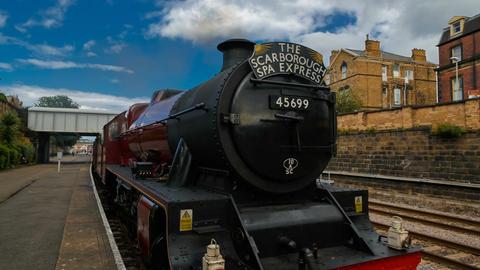 Scarborough Spa Express Footage
