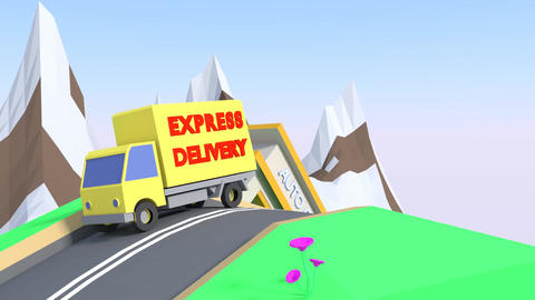 Delivery Animation 画像