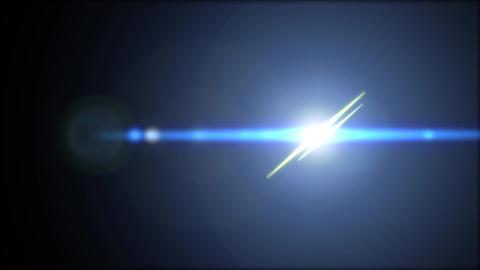Flares-blueYELLOW-center Animation