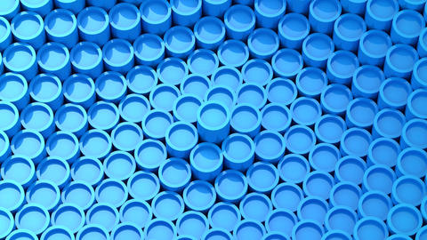 Background of Animated Tubes Animación