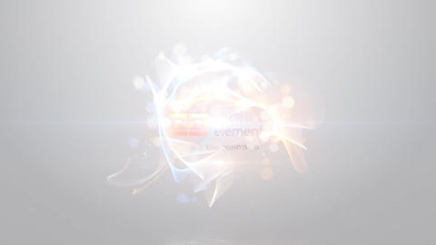 Circular Particle Reveal After Effects Template