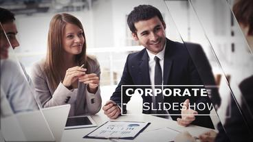 Corporate Opener Slideshow After Effects Template