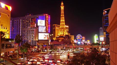 Las Vegas Strip Footage