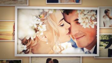 3D Wedding Photo Slideshow - Love Story After Effects Template