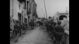 WWII Italy: Infantry Fighting in the Steets of Naples Footage