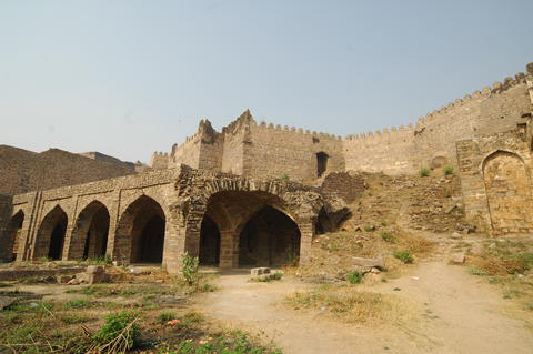 Golconda Fort Hyderabad India Fotografía