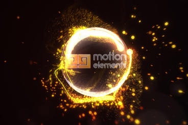 Impact Particles Logo After Effects Template