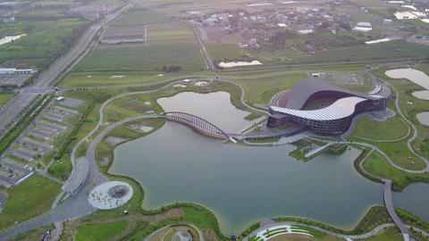 DJI MAVIC 4K Taiwan Chiyai Aerial Drone Video NPM Southern Branch Shuantoutangch Archivo