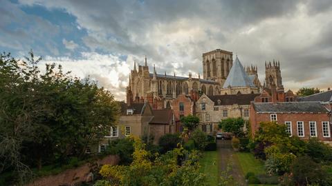 York Minster, Yorkshire, England Footage