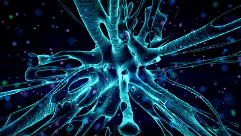 Abstract CGI motion graphics and animated background Animation