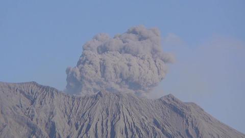 桜島の噴火 ビデオ