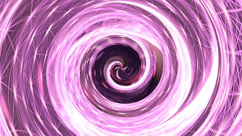 Pink hypnosis spiral loop Animation