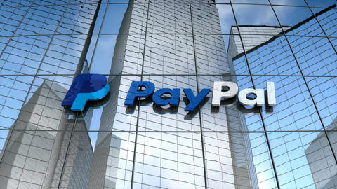 Editorial, Paypal building Animation