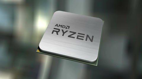 Editorial, AMD Ryzen Stock Video Footage