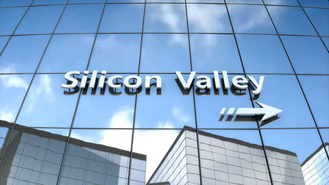 Silicon valley building Animation