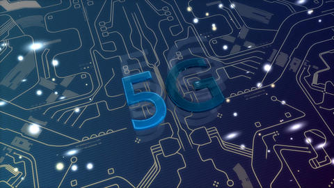 5G connectivity technology Animation