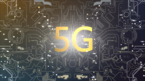 5G connectivity technology Animation
