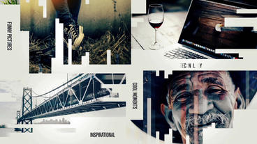 Creative Modern SlideShow After Effects Templates