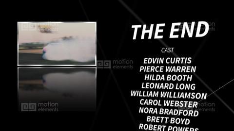 Final credits Premiere Pro Template
