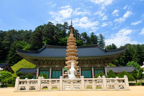 Buddhist temple Foto