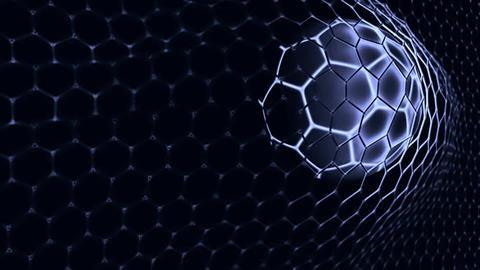 Ball in the net Soccer gate Filmmaterial