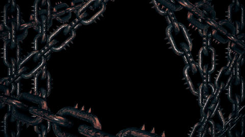 Gothic Chains Frame Animation