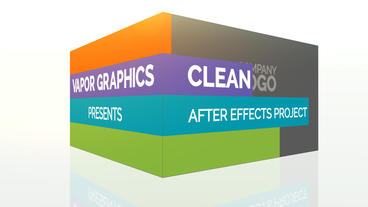 Clean Stripes: After Effects Template After Effects Template