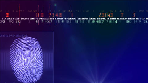 fingers scanner animation Animation
