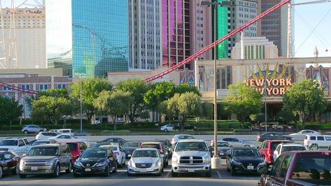 New York - New York Hotel and Casino Filmmaterial