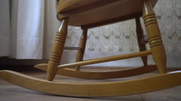 Old Rocking chair Footage