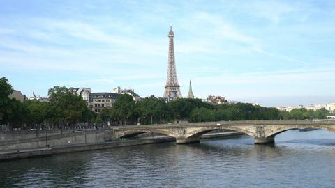 The Seine river in Paris Image