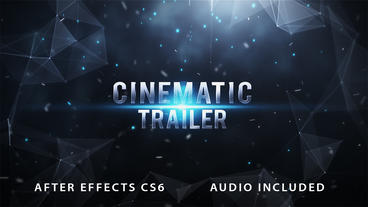 Cinematic Trailer Teaser After Effects Template