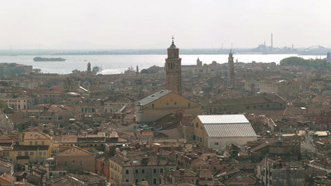 Venice panoramic view Footage