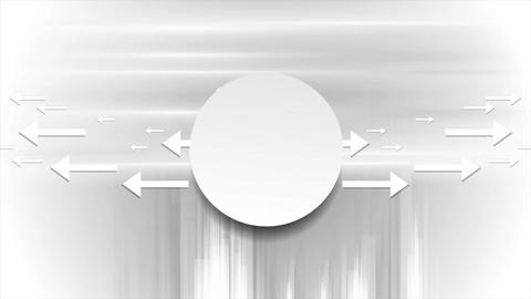 Grey abstract tech video animation with arrows Animation