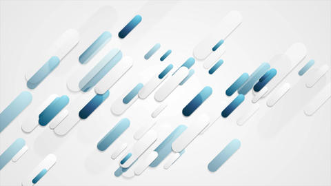 Blue and grey tech diagonal corporate video animation Animation