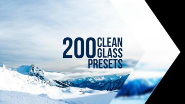 Clean Glass Presets Premiere Pro Template