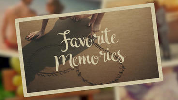 Favorite Memories Premiere Proテンプレート