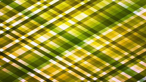 Broadcast Twinkling Diamond Hi-Tech Strips, Green, Abstract, Loopable, 4K Animation