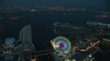 Night view of Yokohama Footage