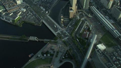 Night view of Yokohama Stock Video Footage