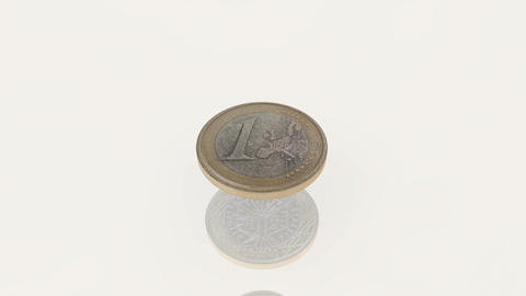 euro-coins-pile-explosion Stock Video Footage