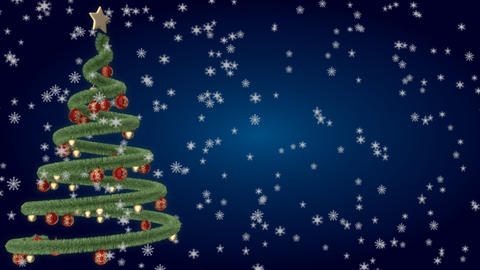 christmas tree 14 Stock Video Footage
