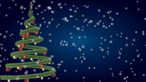 christmas tree 14 Stock Video Footage