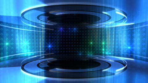 Circle Stage 2 Ac 9 HD Stock Video Footage