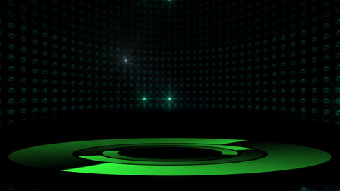 Circle Stage 2 Ad 4 HD Stock Video Footage