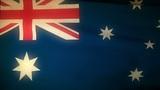 Flag Australia 04 Animation