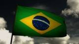 Flag Brazil 02 Animation