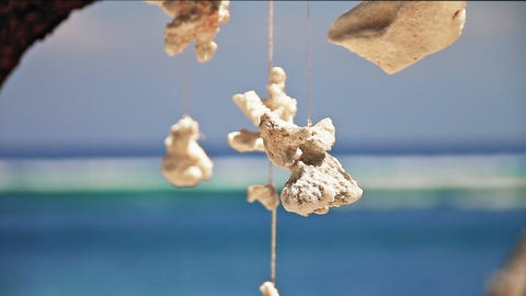 Sea decorations Stock Video Footage