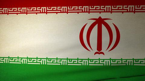 flag Iran 04 Stock Video Footage