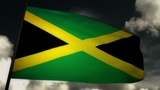 Flag Jamaica 02 Animation